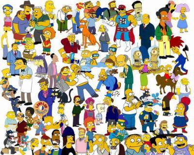 Les habitants de springfield simpson mania - Tout les personnage des simpson ...