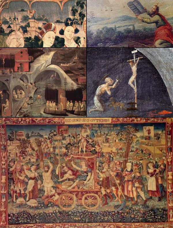 OVNIS DANS L'ART,L'HISTOIRE ET RELIGIONS